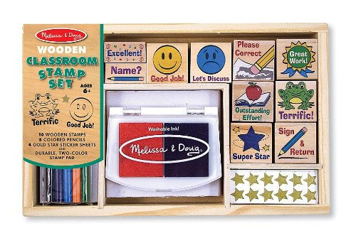 Melissa & Doug Deluxe Classroom Stamp Set (Teachers Supplies For Classroom compare prices)