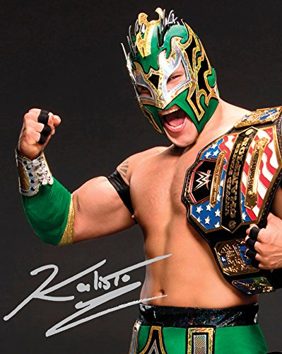 KALISTO WWE 10 x 8 Lab qualità Signed Photo-Print