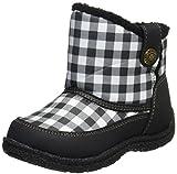 [オシュコシュ] 防寒ブーツ  OSK WC142 ブラックチェック ブラックチェック 15 2E