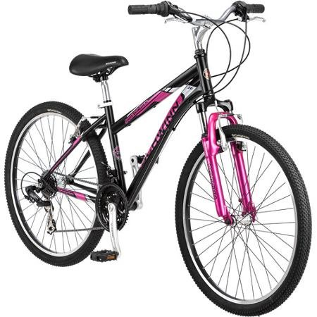 26-Schwinn-Sidewinder-Womens-Mountain-Bike-Matte-BlackPink