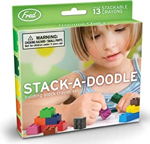 Fred Stack-A-Doodle Block Crayons