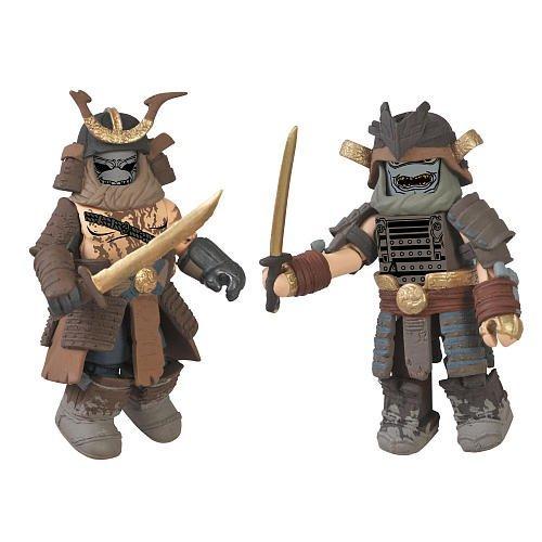 Tomb Raider Minimates Storm Guard & Storm Guard Stalker