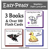 Set of 3 Sight Word Books in 1!  - 3 Easy Readers that are over 90% Sight Words! (Easy-Peasy Reading & Flash Card Series) ~ Philip Spry III