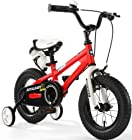 Royalbaby Kids Bikes 12 14 16 18 Avaliable, Bmx Freestyle Bikes, Boys Bikes, Girls Bikes, Best Gifts for Kids. (Red, 18 inch)