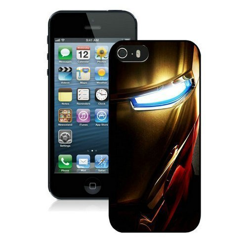 Iphone 5/5S Cases & Covers -Iron Man Mask Custom Case Cover Protector for iPhone 5/5S
