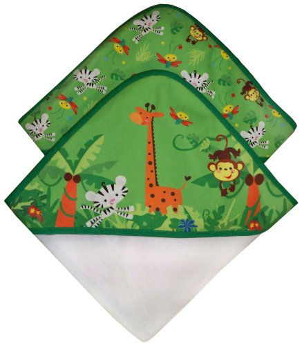 Fisher-Price Rainforest Hooded Towel 2-Pack (Discontinued by Manufacturer)