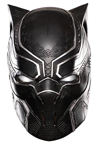 Maschera Black Panther taglia unica adulta 3/4 ATTENZIONE VESTE GRANDE