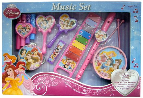 What Kids Want Princess Deluxe Music Set - 1