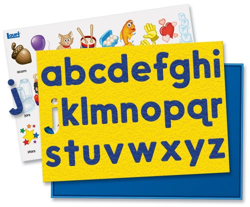 A to Z Lower Case Crepe Rubber Puzzle - Package Colors May Vary