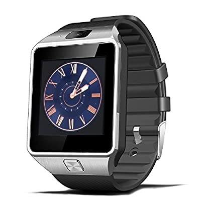 Fund Touch Screen Bluetooth Phone GSM NFC Spy Camera Watch Bluetooth Smart Fitness Watch for Apple Android IOS