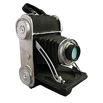 Creative Retro Vintage Old Fashion Resin Camera Model Resemblance Ornament for Home Bar Decoration