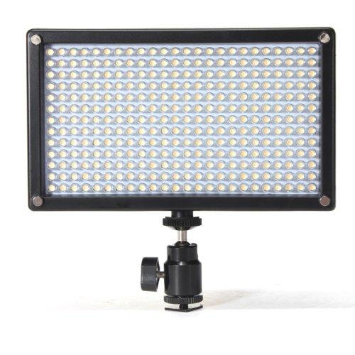 312As Bi-Color Changing Dimmable Led Dslr Camera Light Panel Camcorder