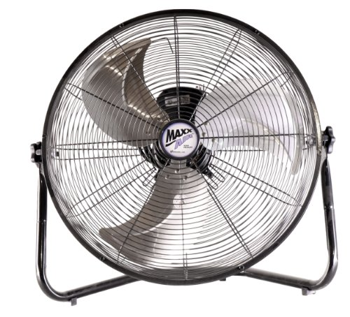 MaxxAir HVFF 20 UPS High Velocity 20-Inch Floor Fan (20 Inch Metal Fan compare prices)