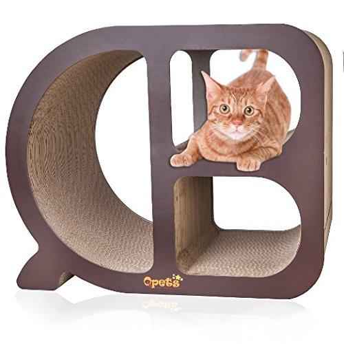 Qpets Cubby Cat Scratcher Cube