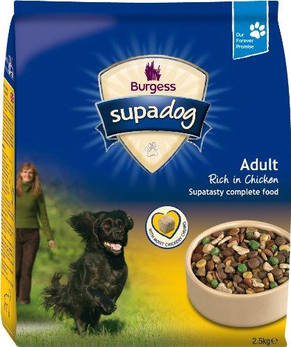 Supadog Adult Complete Dry Dog Food Chicken 2.5 kg (Pack of 2)