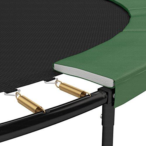 Ampel 24 Trampolin Randabdeckung Deluxe | max. Schutz durch doppelte Dicke | passend für Ø 427 - 430 cm | reißfest | 100% UV-beständig | grün -