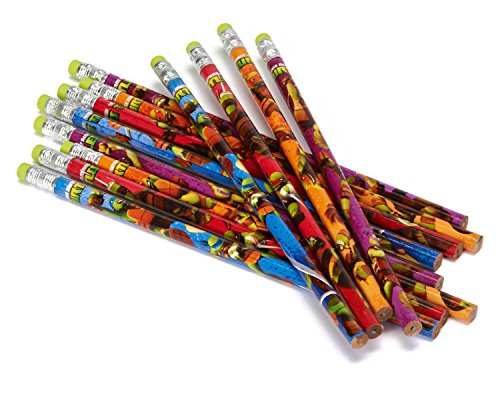 Teenage Mutant Ninja Turtles Pencils, 12 Pack, Party Accessories, Party Supplies