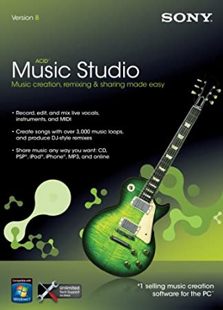 Sony Acid Music Studio 8.0 [Old Version]
