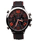 iSweven isweven Fancy Racing series big dial colored digit waterproof Mens'watch Analogue Black Unisex Wrist Watch W1025dd