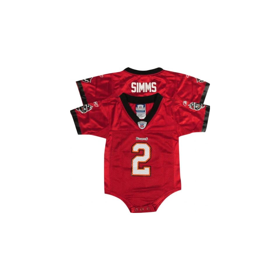 buy popular 94bd9 d1292 Chris Simms Red Reebok NFL Tampa Bay Buccaneers Infant ...