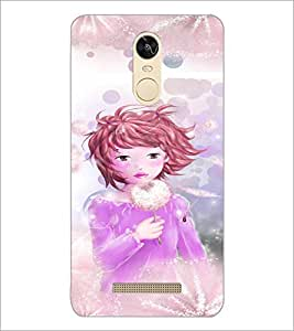 PrintDhaba Playing Girl D-2659 Back Case Cover for XIAOMI REDMI NOTE 3 (MEDIA TEK) (Multi-Coloured)