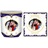 Royal Wedding Kiss York Mug and Coaster