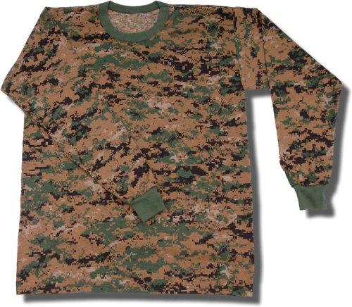 Tru-Spec 50/50 Polyester Cotton Camo Long Sleeve T-Shirt