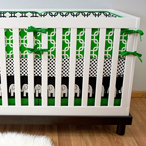 Modified Tot Crib Bedding, Kelly Ele