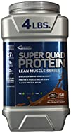 Inner Armour Super Quad Protein Supplement Chocolate 4 Pound