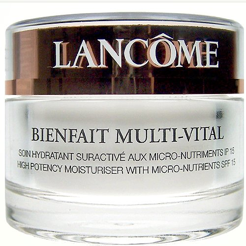 Lancome Bienfait Multi-vital High Potency Moisturizer with SPF 15 for Normal/dry Skin, 1.7-Ounce