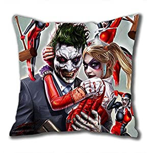 Amazon.com: iCustomonline Joker And Harley Quinn Square