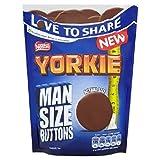 Nestle Yorkie Man Size Buttons 120g