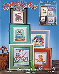 Cats Rule, Cross Stitch from Stoney Creek