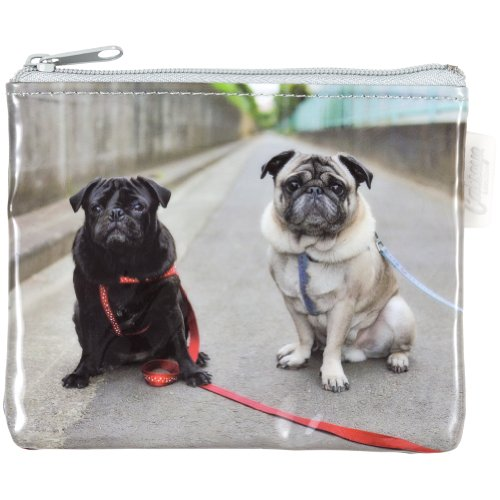 Animal World - Pugs on the Road Coin Purse