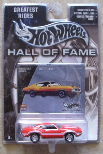Hot Wheels Hall of Fame Greatest Rides Olds 442 RED