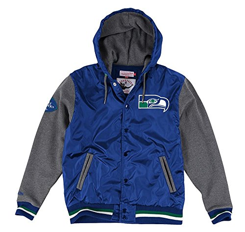 Seattle-Seahawks-Mens-Mitchell-Ness-League-Standings-Jacket-Blue-Charcoal