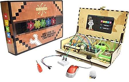 Play Piper 電子工作キット 人気ゲーム「マインクラフト」で電子工作が学べる Piper Toolbox PIPER