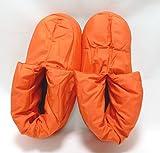(グンゼ)GUNZE UCHI-COLLE(ウチコレ) 婦人バウンドヒータールームシューズ(無地) AUC560 AUC560 756.0 オレンジ 23-25