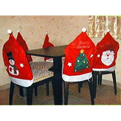 christmas decorative chair covers dining