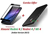 #7: RidivishN (COMBO OFFER) Xiaomi Redmi 4 / Redmi 4 / Mi 4 / Redmi4 / Mi4 All Sides Protection