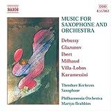 サクソフォンとオーケストラのための音楽