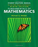 img - for Student Solutions Manual for Van Dyke/Rogers/Adam's Fundamentals of Mathematics, 9th book / textbook / text book