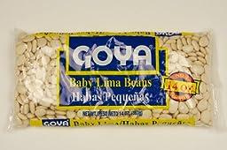 Goya Baby Lima Beans 14 Oz