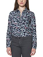 Fred Perry Camisa Mujer (Azul)