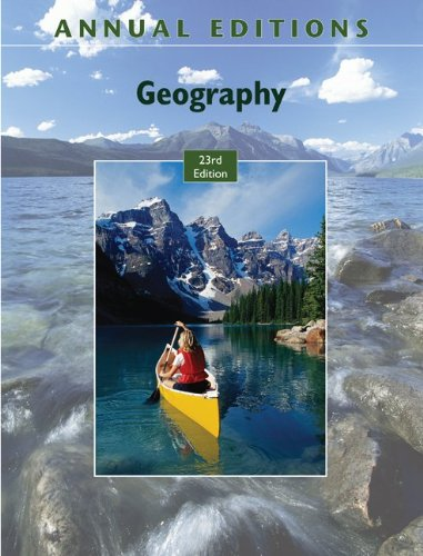 Annual Editions: Geography, 23/e