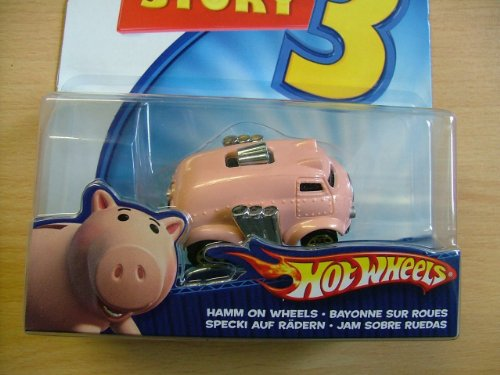Toy Story Hotwheels: Hamm on Wheels Die Cast Vehicle - 1