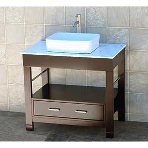 bathroom vanity 36 bathroom vanity cabinet white marble top sink