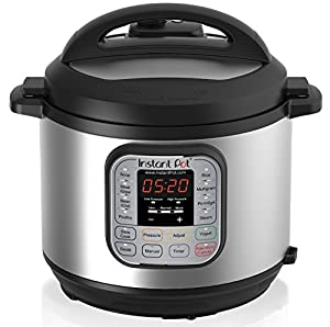 Instant Pot IP-DUO60 7-in-1 Multi-Functional Pressure Cooker, 6Qt/1000W (2-Pack)