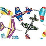 "Foam Glider Planes 5"" Inch - 72 Piece Party Pack"