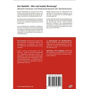 Der Rotstift 2016 - Wie viel kostet Werbung? - So kalkulieren Werbeagenturen, Grafiker, We